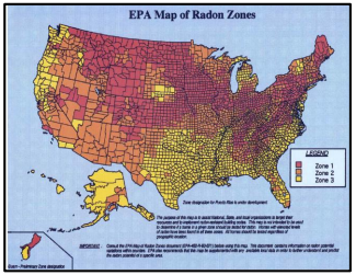 Photo of Indoor Radon Exposure Map