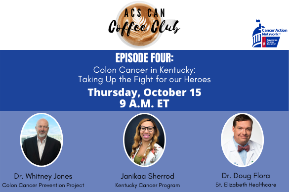 Acs Can October Coffee Club American Cancer Society Cancer Action Network