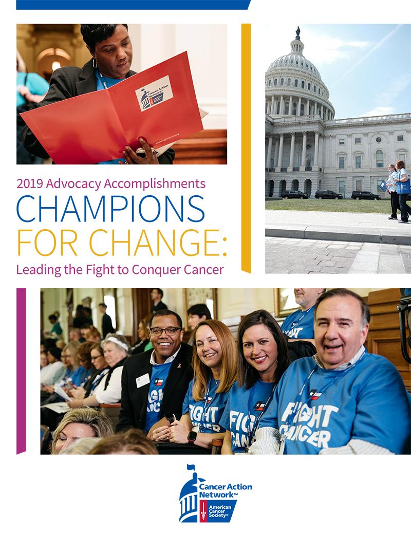 ACS CAN Advocacy Accomplishments cover