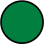 Image of green dot used to denote green states in a map key