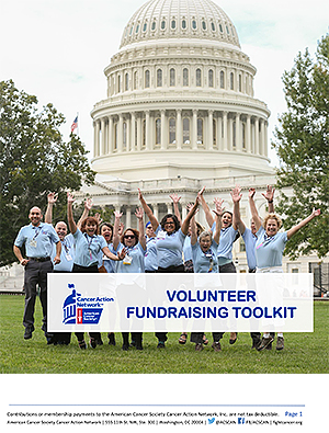 ACS CAN Volunteer Fundraising Toolkit