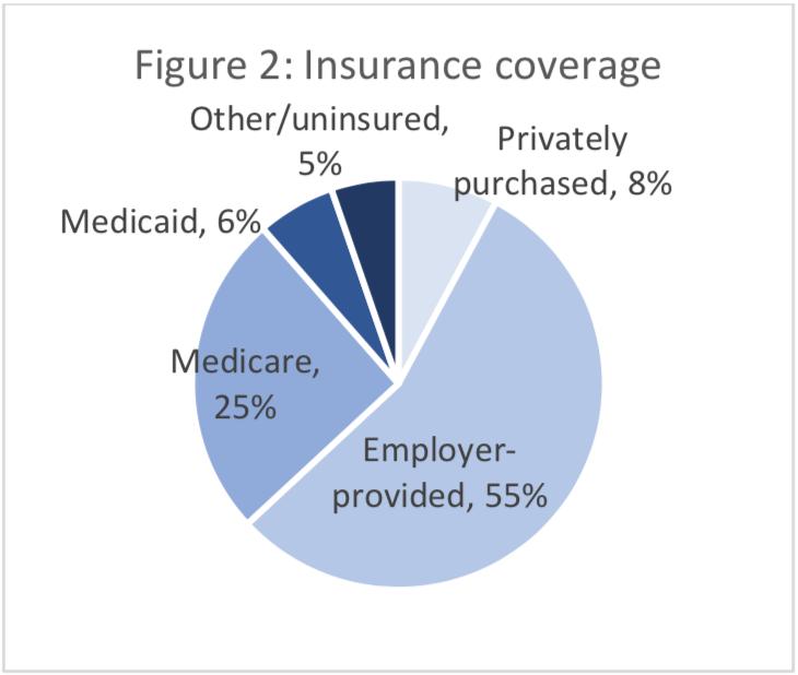 Figure 2: Insurance coverage