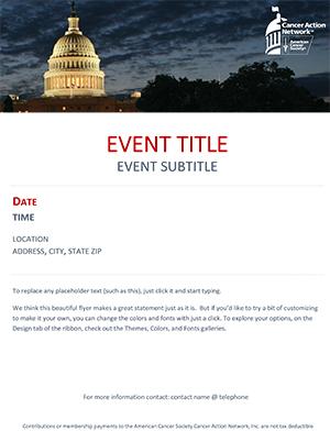 General Event Flyer