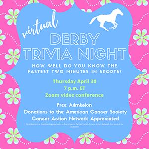 Kentucky Derby Trivia Night Flyer