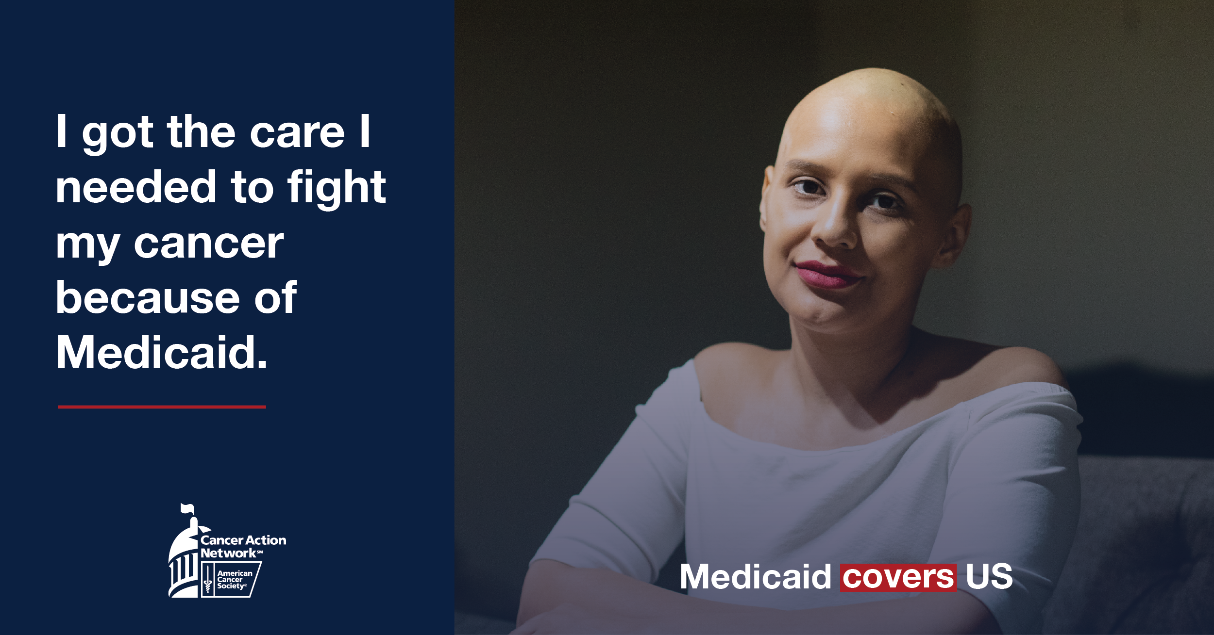 Woman talks about how she has been helped by medicaid