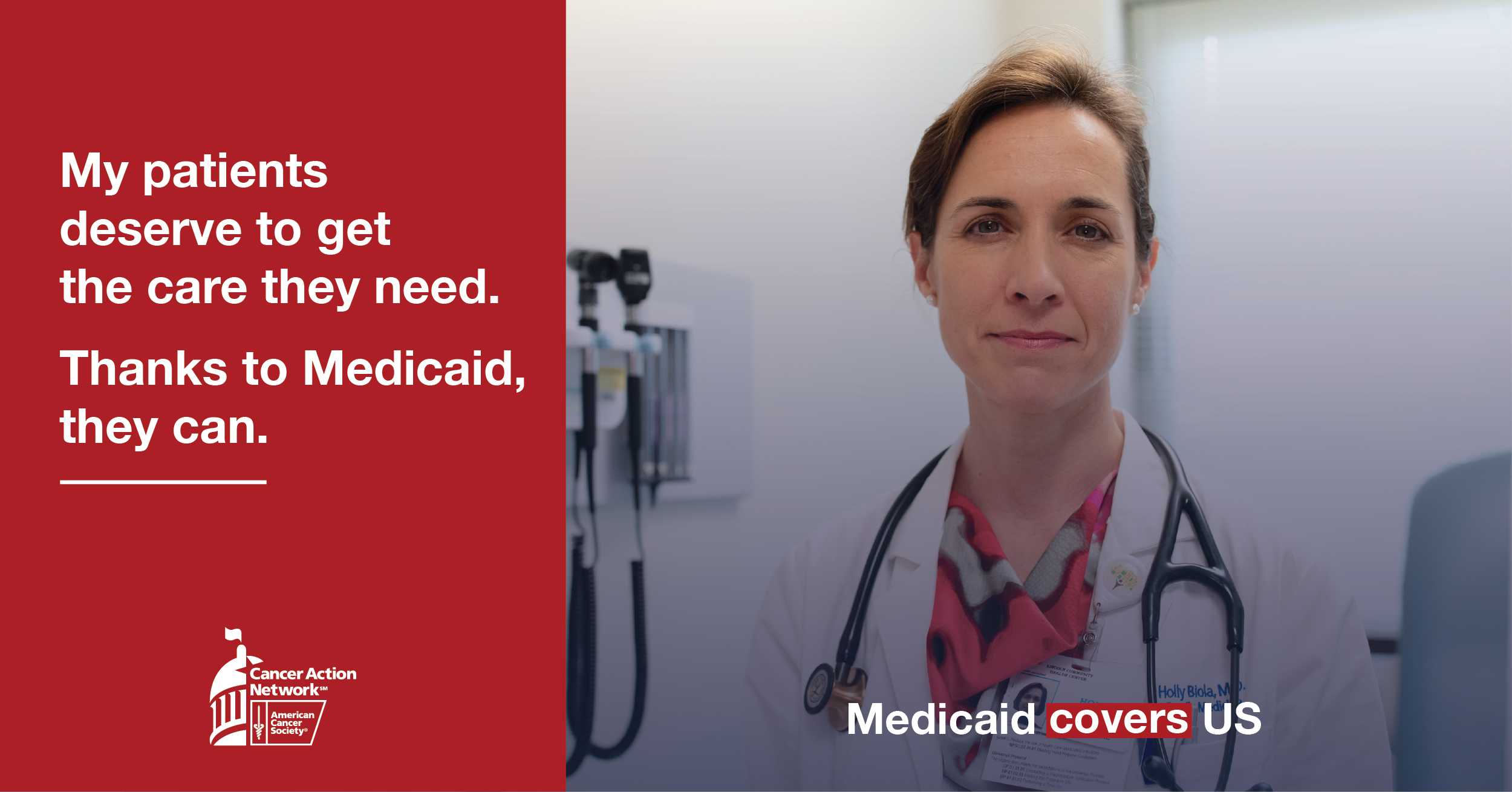 Doctor talks about how medicaid has helped her patients