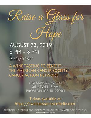 Wine fundraiser flyer