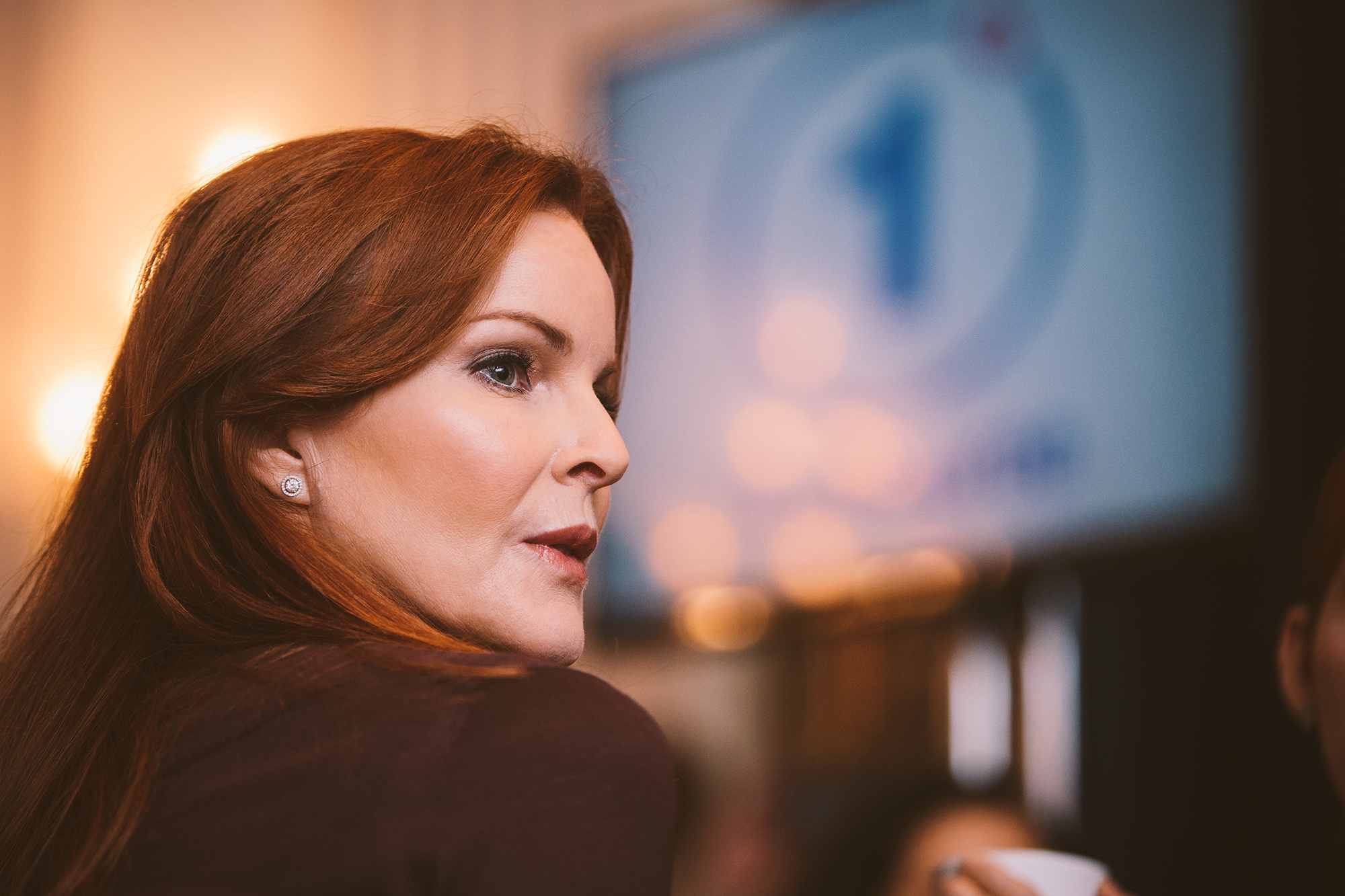 Actress and cancer research advocate Marcia Cross at the launch of the One Degree campaign