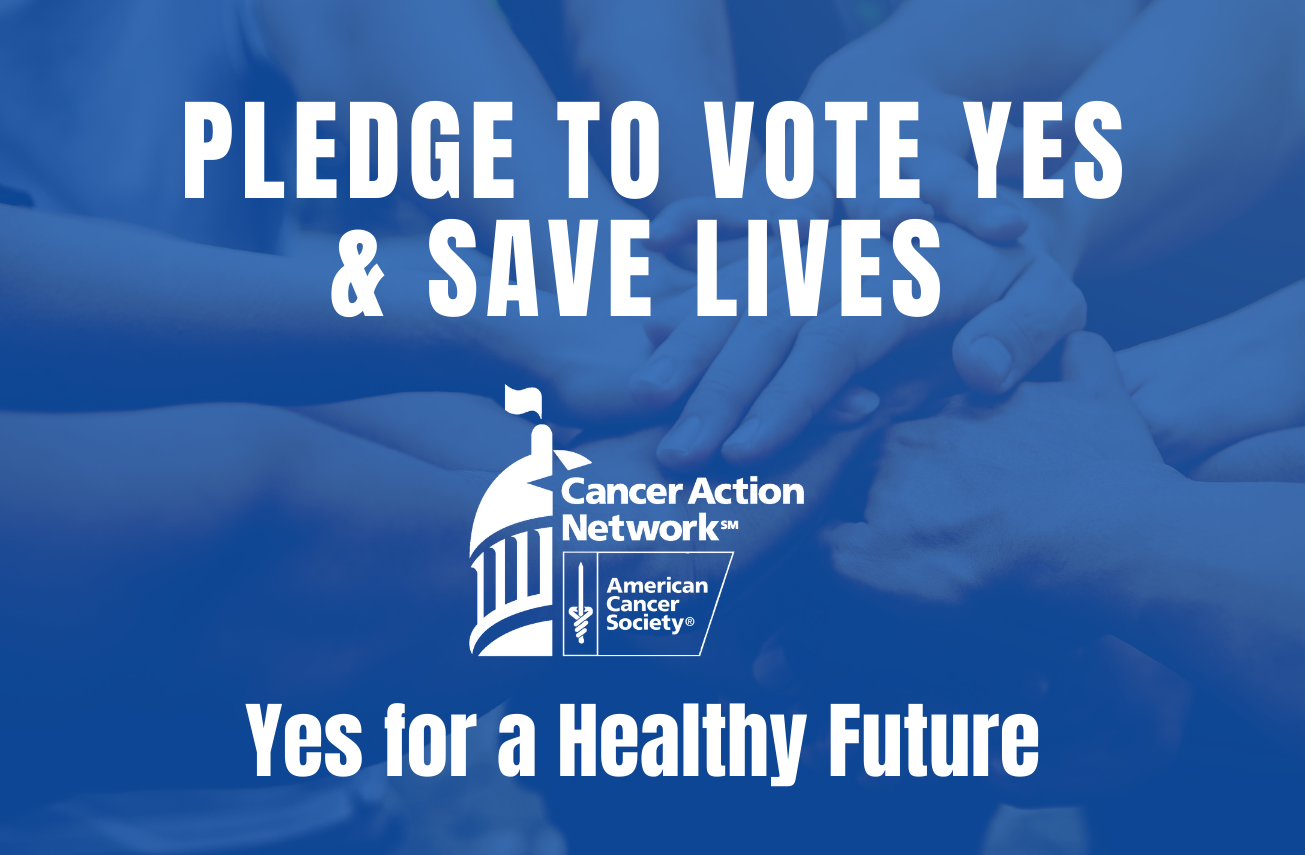 Pledge to Vote YES in November & Help Us Save Lives ...