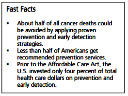 Photo of prevention fast facts