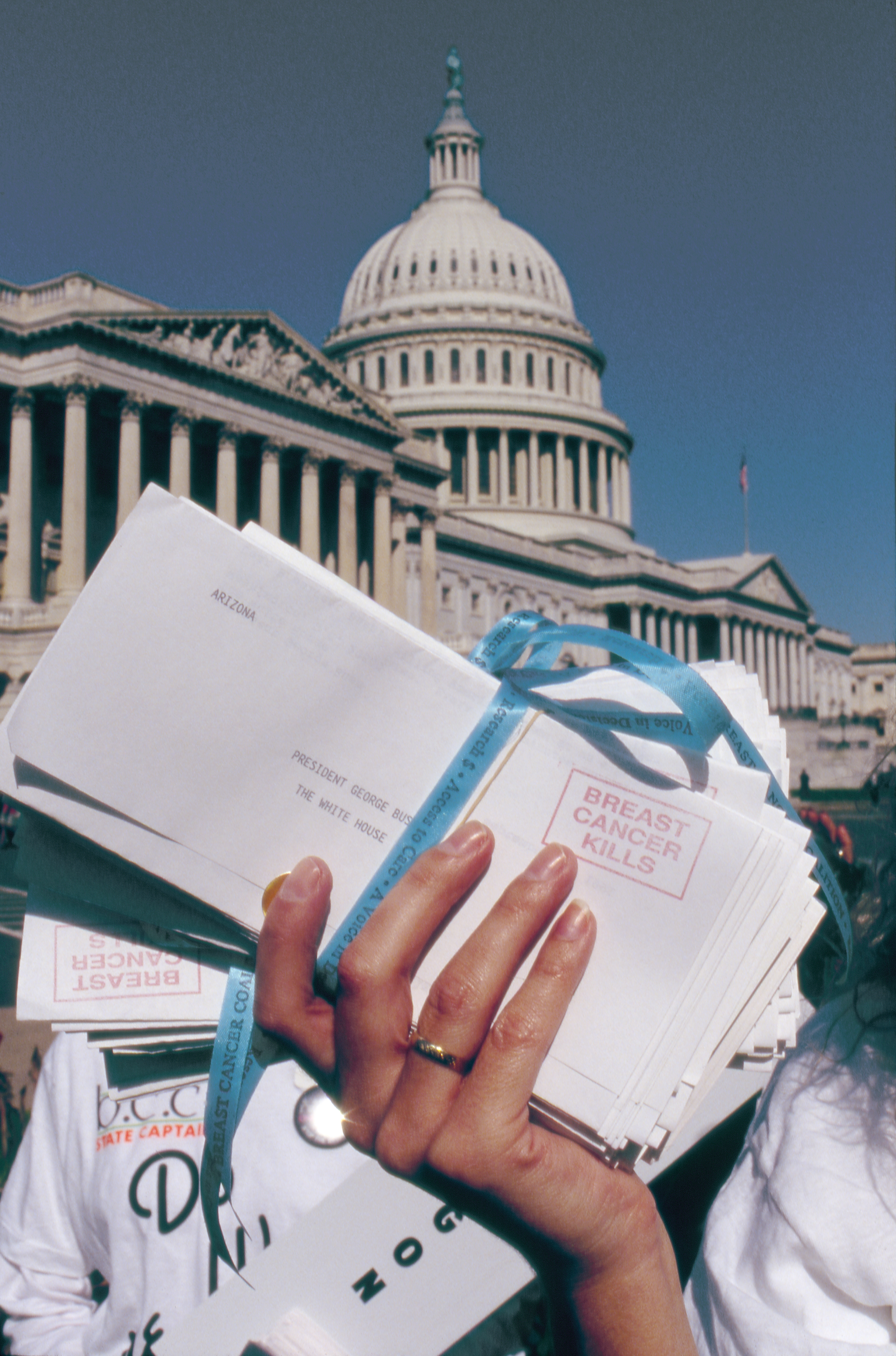 Capitol with Letters