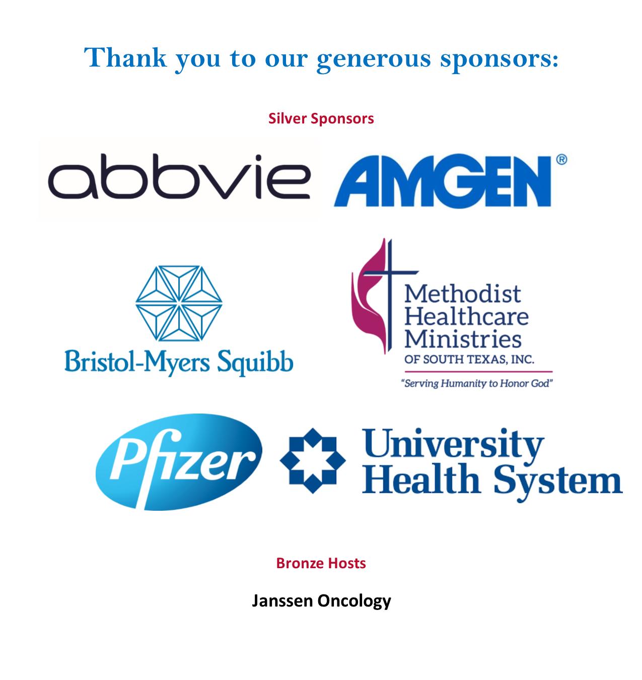 SA forum sponsors