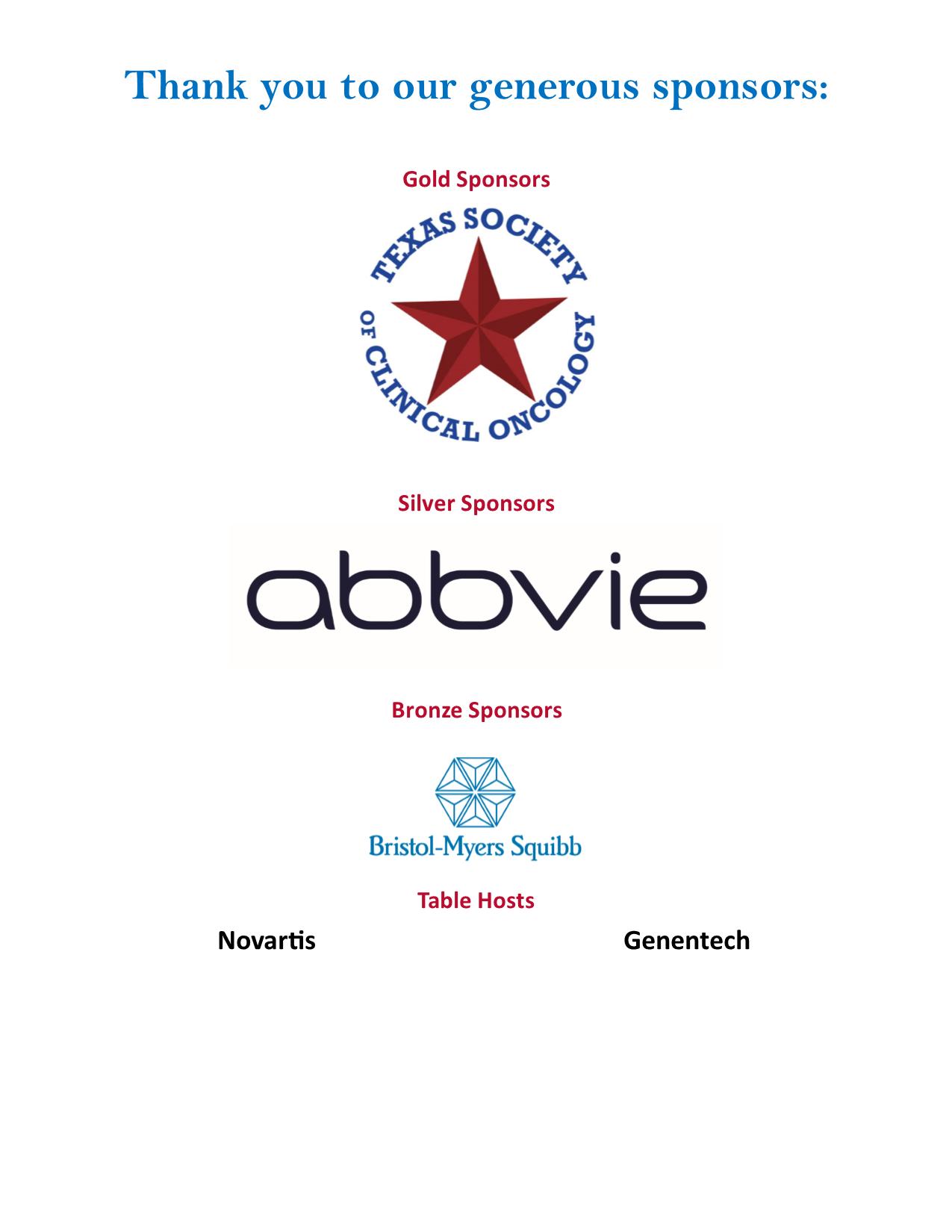 TRB sponsors 7.2019