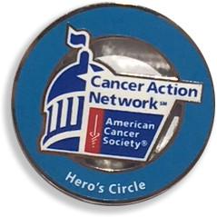 Hero's Circle lapel pin