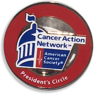 President's Circle lapel pin