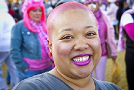Image of Making Strides Against Breast Cancer Participant