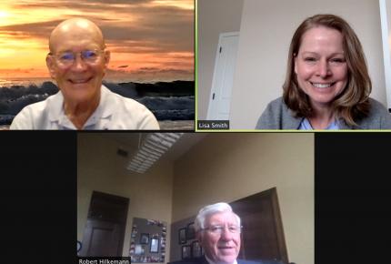 ACS CAN volunteers meet virtually with Sen. Robert Hilkemann