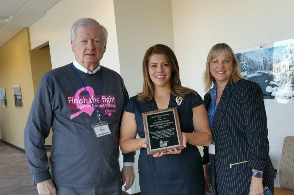 Assemblywoman Benitez-Thompson awarded by cancer advocacy group