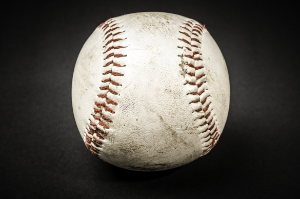 Photo of a baseball