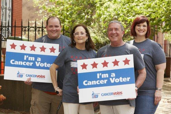 I'm a Cancer Voter