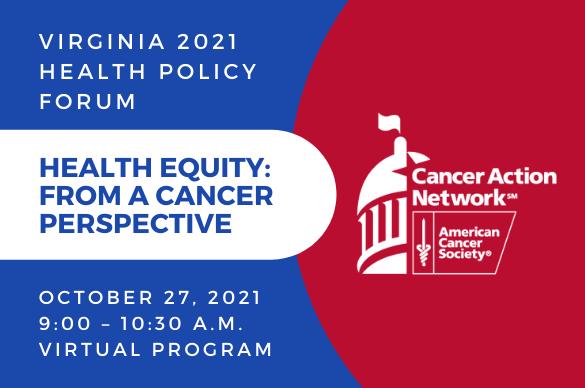 VA 2021 health policy forum graphic
