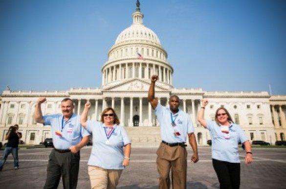 Volunteer at US Capitol Building