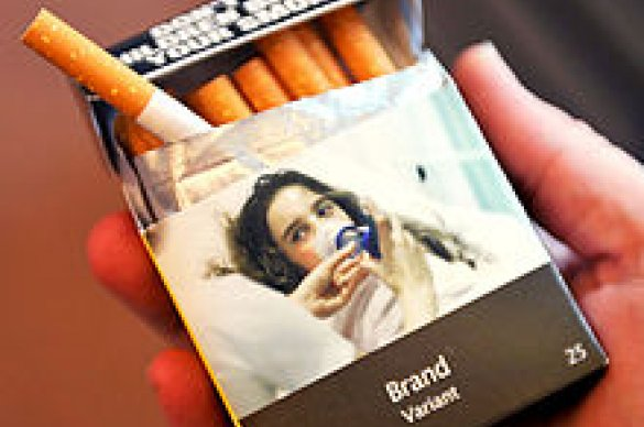 Generic cigarette packaging
