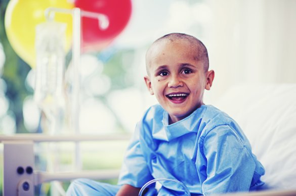 childhood cancer patient