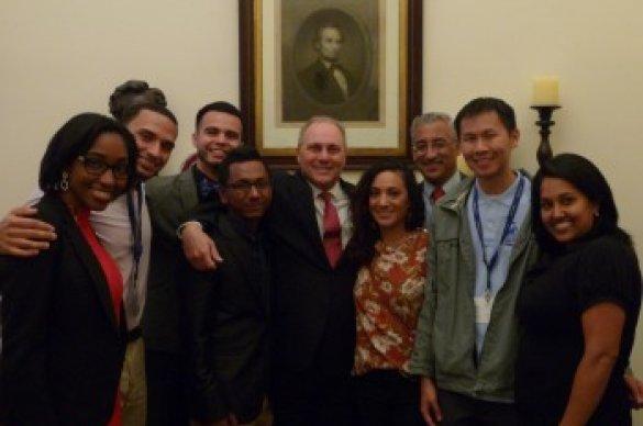 Gates Millennium Scholars during Lobby Day