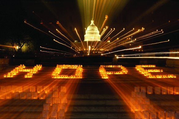 Photo of Lights of Hope on the Capitol