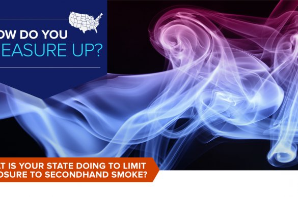 What is your state doing to limit exposure to secondhand smoke?