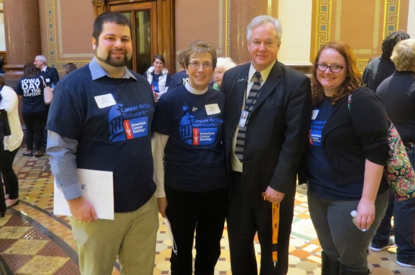 Photo from Iowa Day at the Capitol 2017