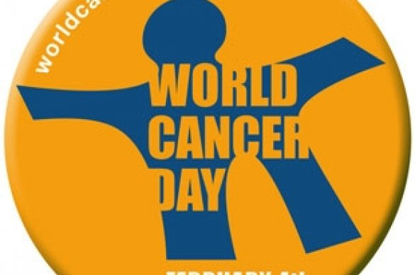 World Cancer Day Button