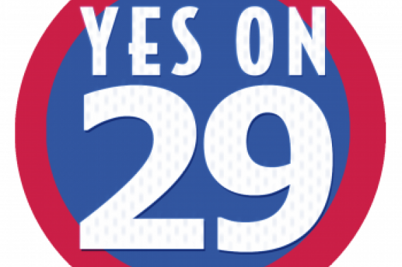 Yes on 29 Logo