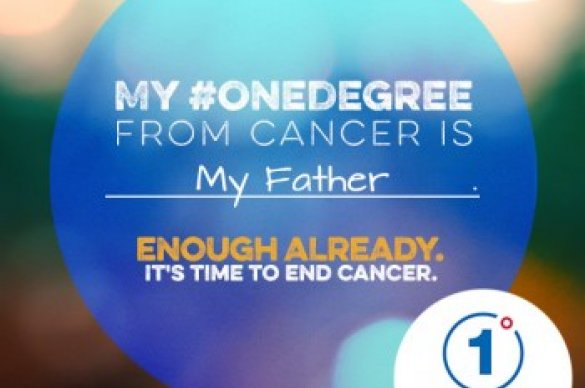 One Degree from Cancer logo