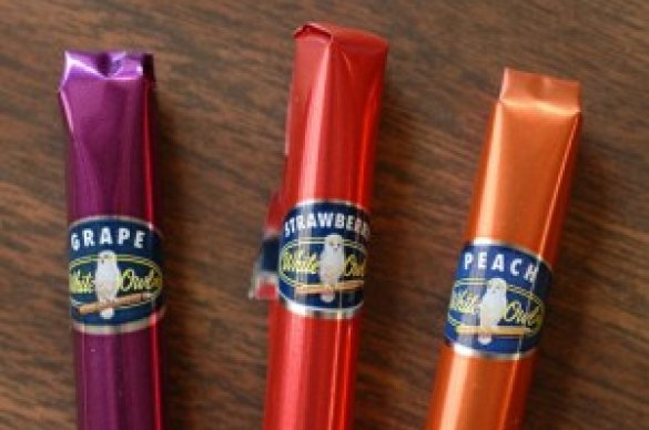 Various flavored cigars