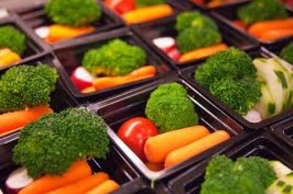 Pre-portioned vegetables