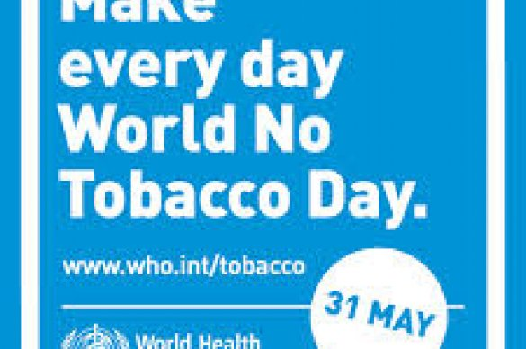 No Tobacco Day advertisement