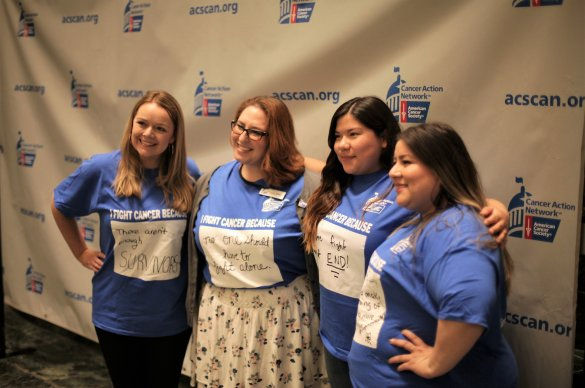 ACS CAN New York advocates at the 2018 Day at the Capitol