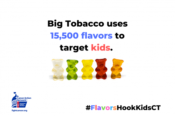 Big tobacco uses 15500 flavors to target kids