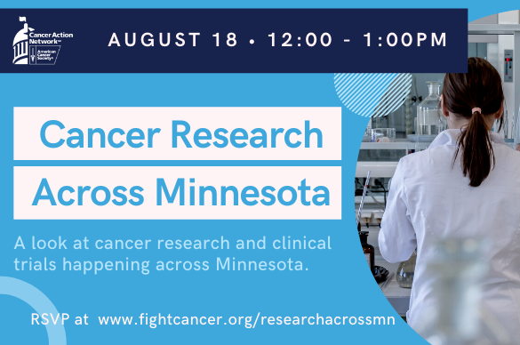 Event: Cancer Research Across Minnesota