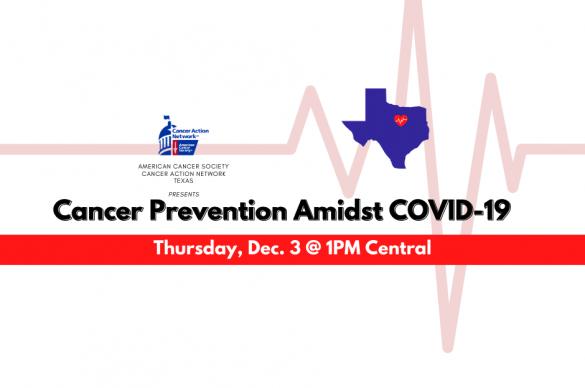 Cancer Prevention in TX // CV19