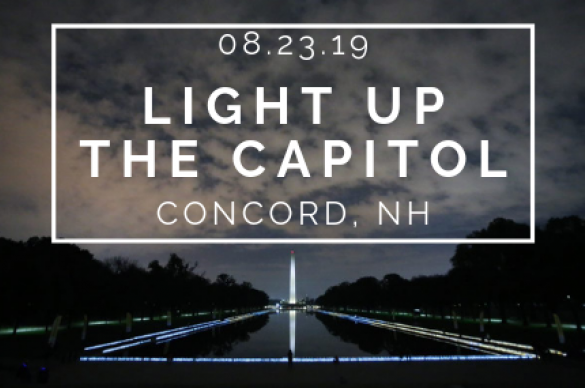 NH Light up the Capitol Event Image