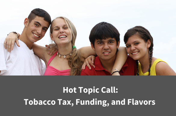 Maine Tobacco Hot Topic Call Cover Graphic