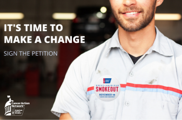 Sign the Petition Image for Great American Smokeout