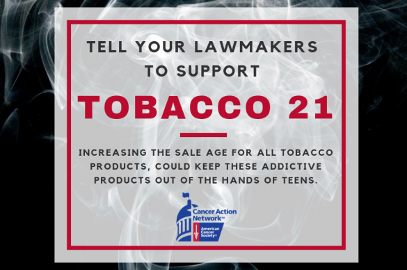 Support Tobacco 21