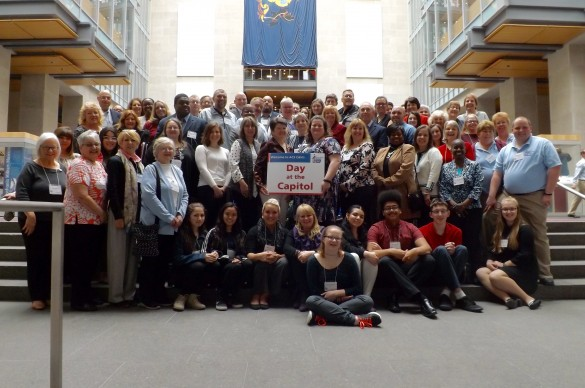 Group icture of PA Day at the Capitol attendees