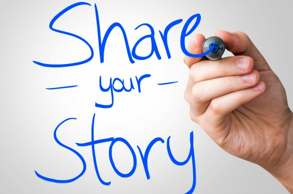 Sharing your story is powerful.