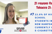 21 Reasons for Tobacco 21 7
