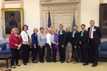 ACS CAN volunteers at Delaware Legislative Hall 2018